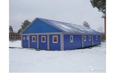 Лыжная база из блок контейнеров