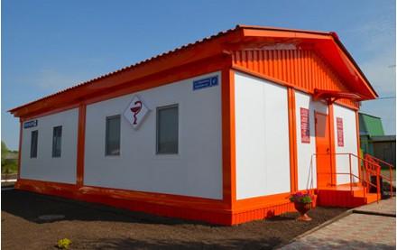 Фельдшерско-акушерский пункт из блок контейнеров