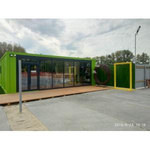 Установка пропускного пункта и мобильный офиса