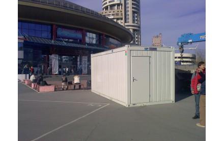 Аренда блок контейнера Containex 6 х 2,45
