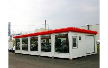 Автосалон из блок контейнеров