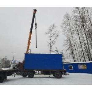 Поставка и монтаж штаба строительства в г.Тобольске