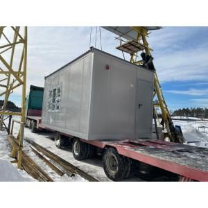 Выполнена поставка блок-контейнеров в г.Сатка