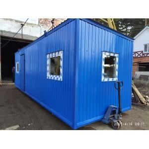 """Блок-контейнер """"МобиЭко"""" для поставки в г.Тюмень"""
